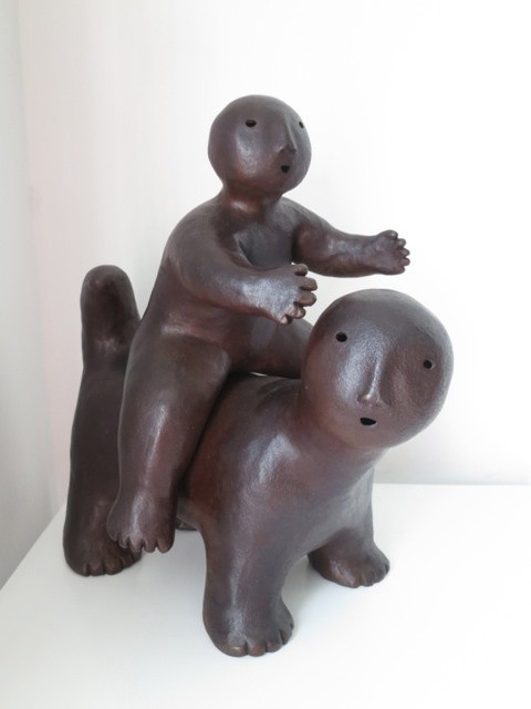 <span class=&#34;artist&#34;><strong>Joy Brown &#21932;&#20234;&#12539;&#24067;&#26391;</strong></span>, <span class=&#34;title&#34;><em>Animal with Rider</em>, 2014</span>