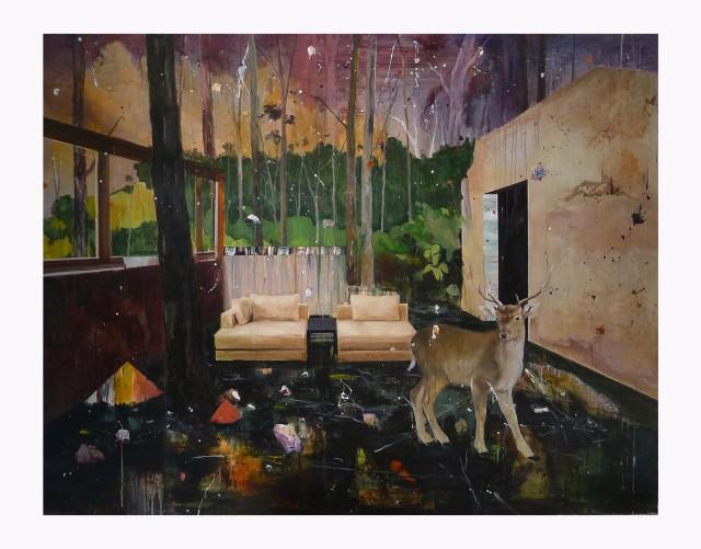 Xu Dawei 徐大衛, Coincident Scenery, 2014