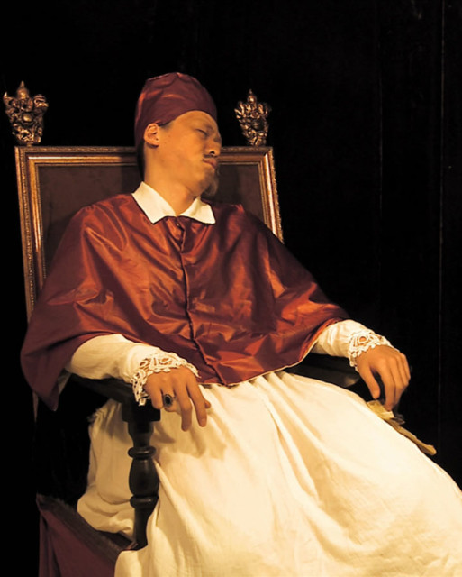 Han Jinpeng 韓金鵬, Pope Innocent X Hasn't Slept For Two Days 皇英諾森十世兩天沒睡覺, 2010