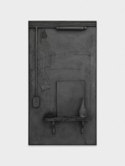 Rico Weber, La peur de l'artiste devant la toile vierge, c.1993