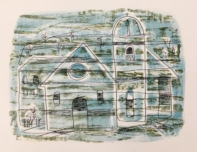 Maltby Sykes (1911 - 1992), Church in Ligurnia