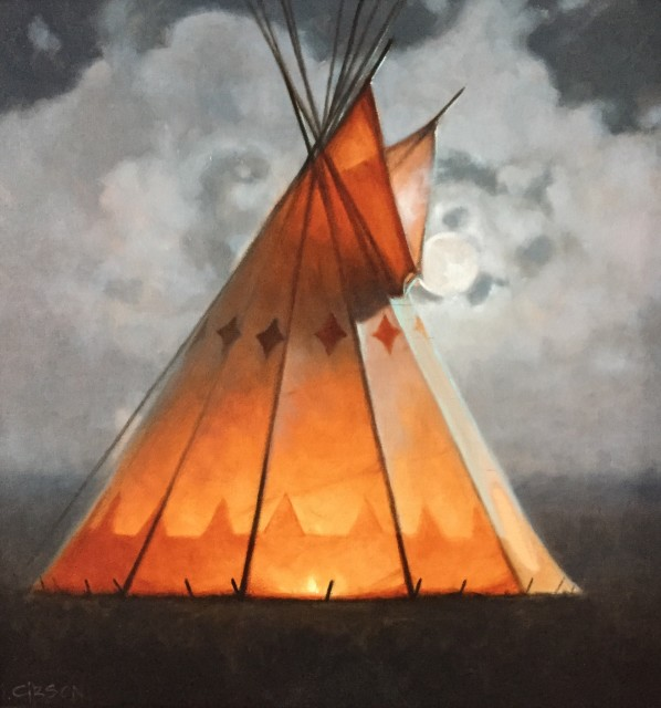 <span class=&#34;artist&#34;><strong>Mark Gibson</strong></span>, <span class=&#34;title&#34;><em>BY THE LIGHT OF THE MOON</em></span>