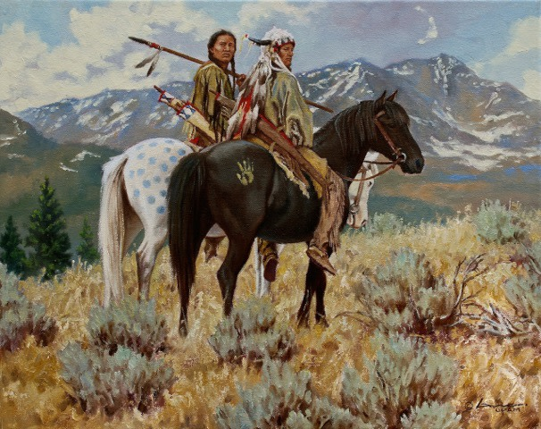 <span class=&#34;artist&#34;><strong>Steven Lang</strong></span>, <span class=&#34;title&#34;><em>DEFENDERS OF THE SHINING MOUNTAINS</em></span>