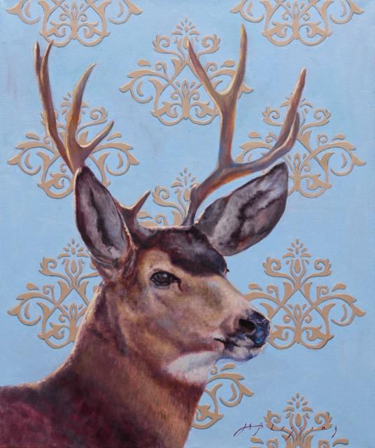 <span class=&#34;artist&#34;><strong>Meagan Blessing</strong></span>, <span class=&#34;title&#34;><em>VINTAGE BLUE</em></span>