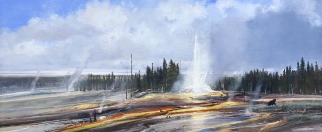 <span class=&#34;artist&#34;><strong>Michael Coleman</strong></span>, <span class=&#34;title&#34;><em>Yellowstone Geysers</em></span>
