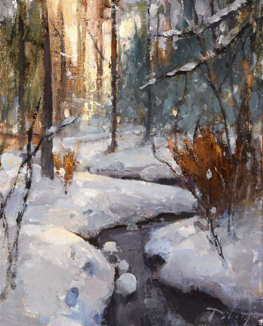 Kyle Paliotto, WINTER WALK