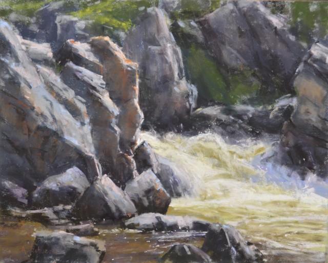 <span class=&#34;artist&#34;><strong>Aaron Schuerr</strong></span>, <span class=&#34;title&#34;><em>Firehole Canyon</em></span>