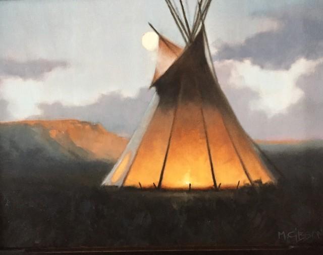 <span class=&#34;artist&#34;><strong>Mark Gibson</strong></span>, <span class=&#34;title&#34;><em>SUNSET AND MOONRISE</em></span>