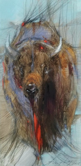<span class=&#34;artist&#34;><strong>Amy Lay</strong></span>, <span class=&#34;title&#34;><em>A Little Bison</em></span>