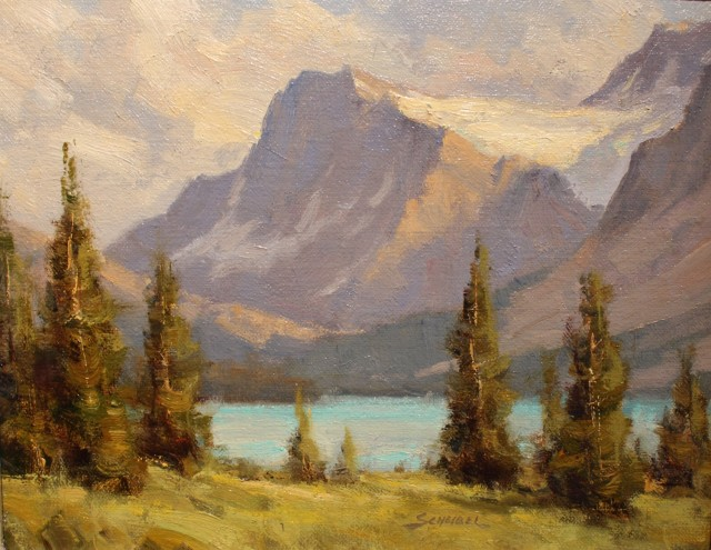 Greg Scheibel, BOW LAKE STUDY