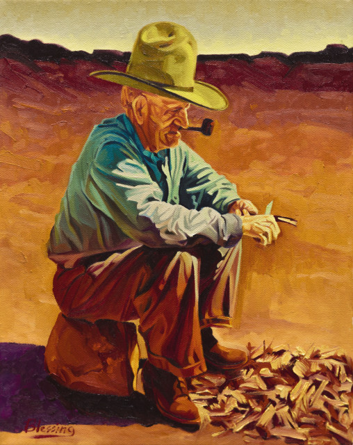<span class=&#34;artist&#34;><strong>Michael Blessing</strong></span>, <span class=&#34;title&#34;><em>THE WHITTLER</em></span>