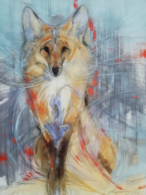 <span class=&#34;artist&#34;><strong>Amy Lay</strong></span>, <span class=&#34;title&#34;><em>The She Fox</em></span>