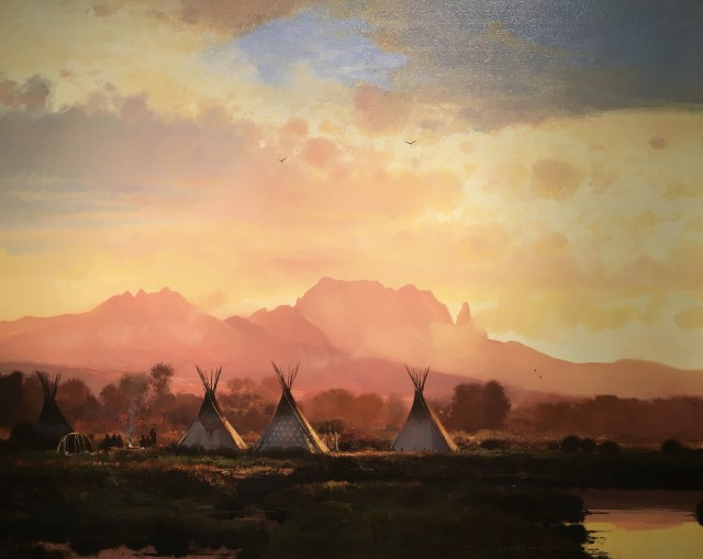 <span class=&#34;artist&#34;><strong>Nicholas Coleman</strong></span>, <span class=&#34;title&#34;><em>Mountain Camp</em></span>