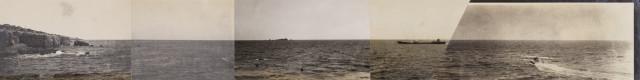 Ni Youyu 倪有魚, Freewheeling Trip (The Moment the Sea Surface was Ripped) 逍遙遊 (劃破海面的瞬間), 2017
