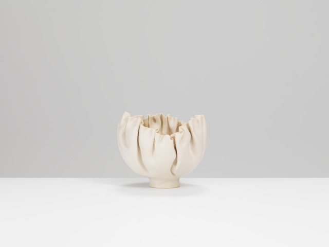Mary Rogers, Porcelain Folded Bowl