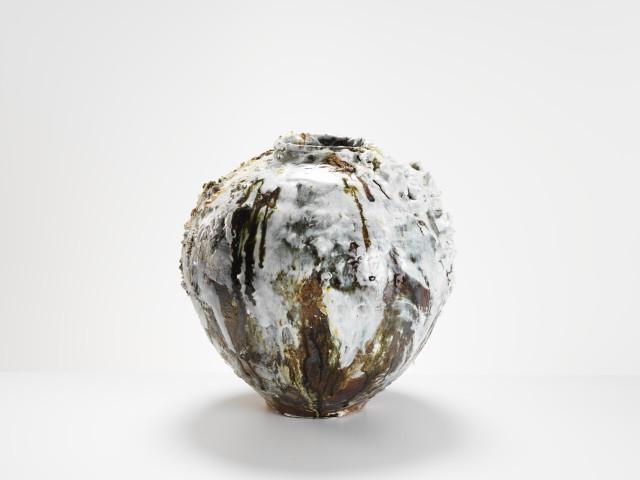 Akiko Hirai, Large Moon Jar, 2017