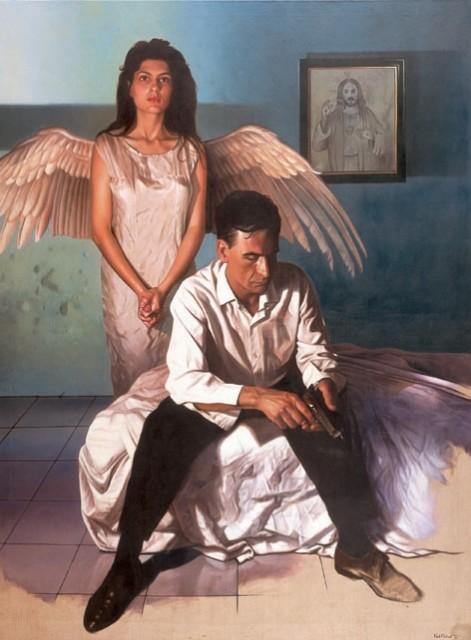 <span class=&#34;artist&#34;><strong>Paul Roberts</strong></span>, <span class=&#34;title&#34;><em>Angel Redeemer</em></span>