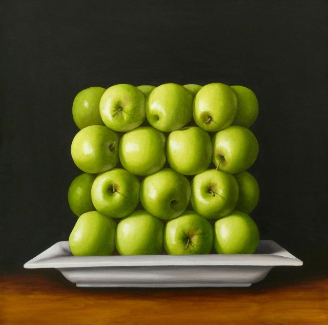 Antonia Williams, Square green Apples