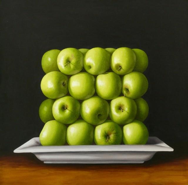 Antonia Williams, Square green Apples