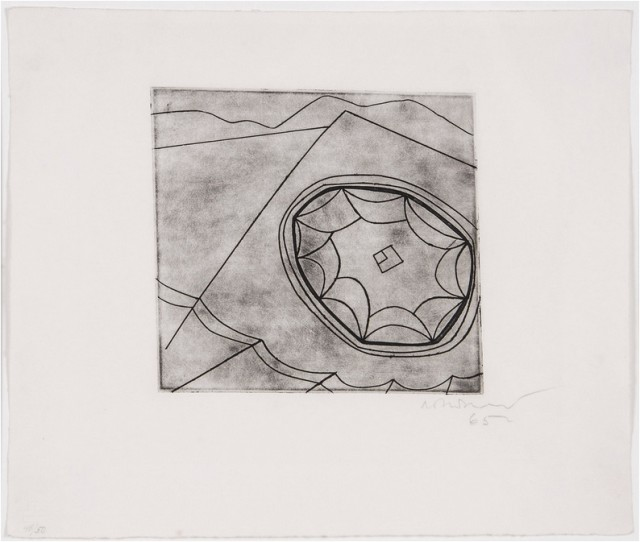 Ben Nicholson OM, Olympic Fragment (C.118), 1965