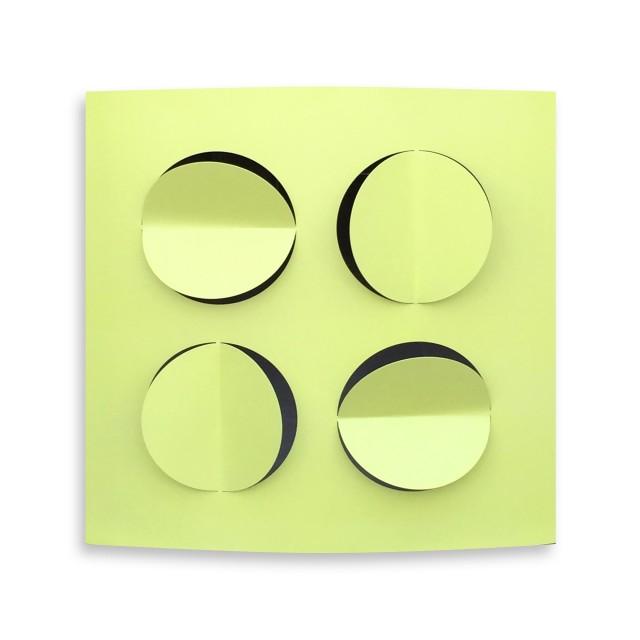 <span class=&#34;artist&#34;><strong>Rashid Al Khalifa</strong></span>, <span class=&#34;title&#34;><em>Apple Green</em>, 2015</span>