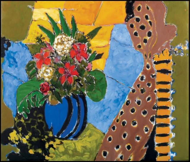 Rashid Al Khalifa, Fragmented Abstraaction II, 1997