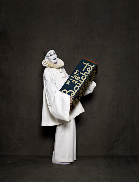 Arnaud Maggs, After Nadar: Pierrot and Bauchet, 2012