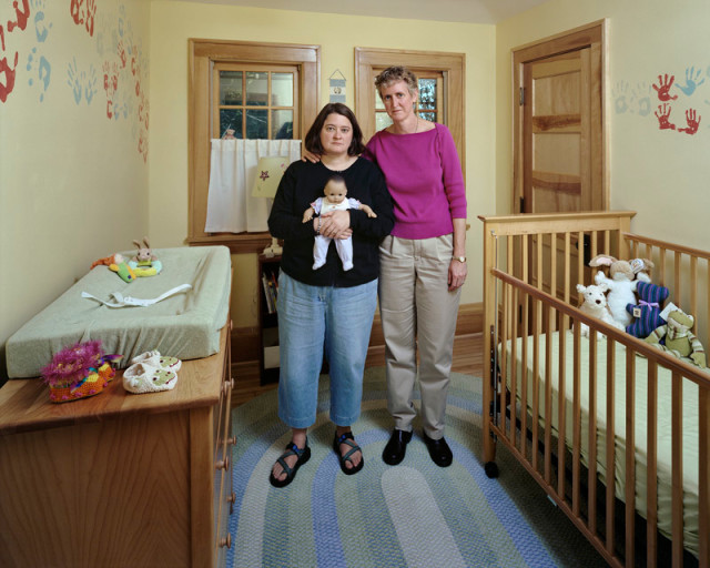 Dona Schwartz  Desiree and Karen, 68 Days, 2006  Chromogenic print flush mounted to archival board  20 x 24 inch (50.8 x 60.96 cm) image  25 x 30 inch (63.5 x 76.2 cm) paper  Edition of 15 (#1/15)