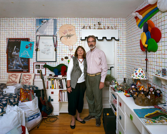 Dona Schwartz  Lollie and Alan, 3 Months, 2010  Pigment print on archival paper flush mounted to archival board  36 x 45 inch (91.44 x 114.3 cm) image  43 x 52 inch (109.22 x 132.08 cm) paper  Edition of 15 (#1/15)