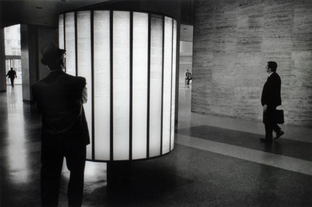 Viktor Kolář  Montreal, 1972  Gelatin silver print  10 ¼ x 15 ¼ inch (26.04 x 38.74 cm) image  11 ¼ x 15 ¾ inch (28.58 x 40.01 cm) paper  Edition of 10 (#2/10)