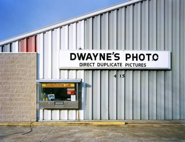 Robert Burley, Dwayne's Photo Lab, Parsons, Kansas, December 30, 2010