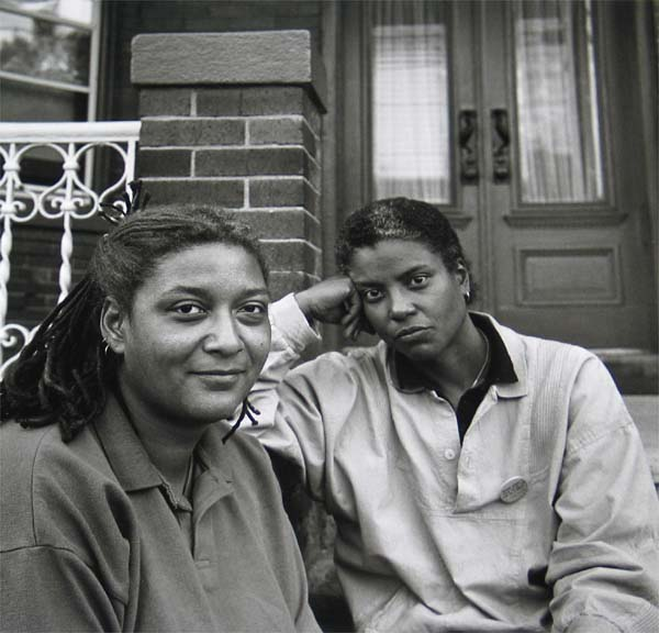 Robert Giard, Cheryl Clarke and Jewelle Gomez, 1987
