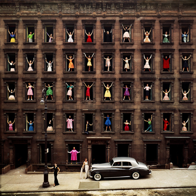 Ormond Gigli, Girls in the Windows, 1960