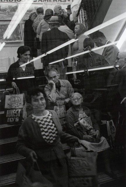 Viktor Kolář  Toronto [Ed Mirvish Store], 1970  Gelatin silver print  14 ¾ x 10 inch (37.47 x 25.4 cm) image  15 ½ x 10 ¾ inch (39.37 x 27.31 cm) paper  Edition of 10 (#6/10)