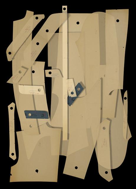 Sara Angelucci  Coppley Patterns (DM), 2017  Chromogenic print with archival matt laminate flush mounted to Ibond  50 x 36 inch (127.00 x 91.44 cm)  Edition of 12