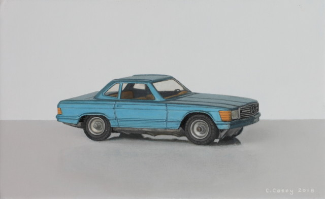 Toy Car (Mercedes 350 SL CKO 440)