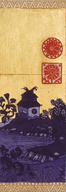 Detail, Blue Evening II