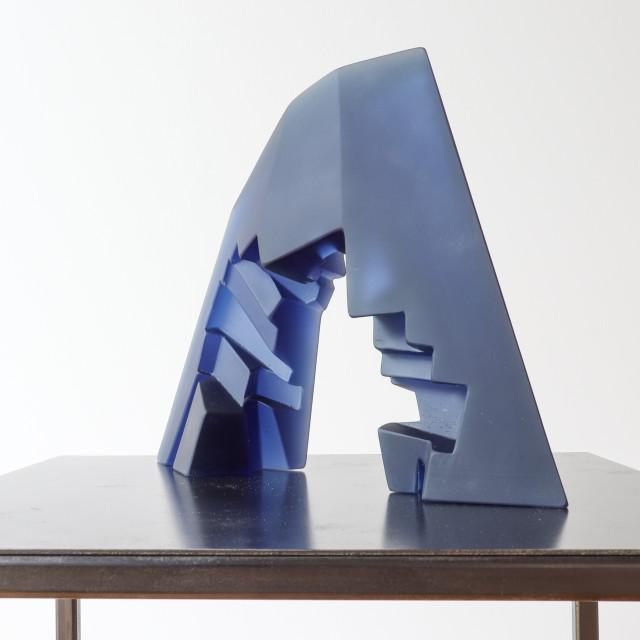 Emma Camden, Archway (Steel Blue), 2020