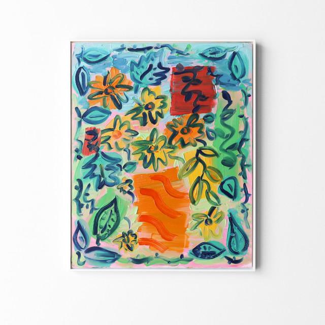 Kirstin Carlin, Untitled (Flourish), 2020
