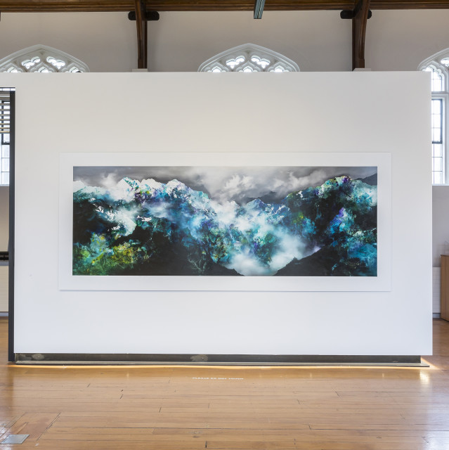 Simon Edwards, Mist and Stone, 2019