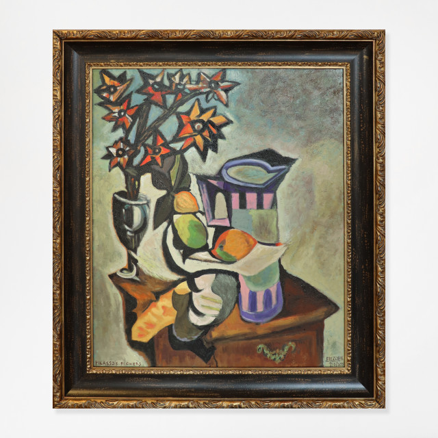 Dick Frizzell, Picasso's Flowers, 2/2/2021
