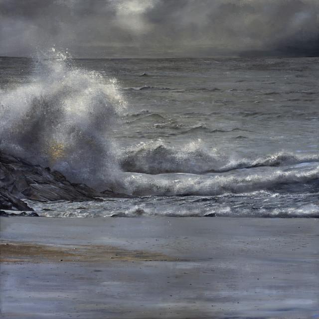 Suki Wapshott  Highs and Lows - Ltd Ed Prints available  Oil on linen canvas  Canvas: 165cm x 165 cm