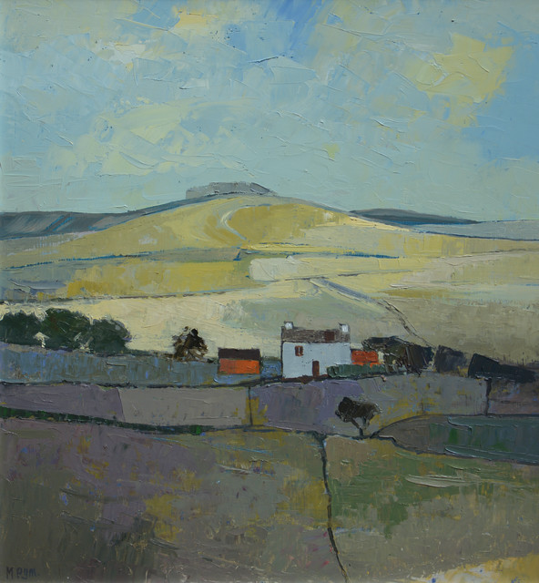 <div class=&#34;artist&#34;><strong>Mary Pym</strong></div><div class=&#34;title_and_year&#34;><em>BY THE SOUTH DOWNS</em></div><div class=&#34;medium&#34;>Oil on board</div><div class=&#34;dimensions&#34;>21&#34; X 20&#34;</div>