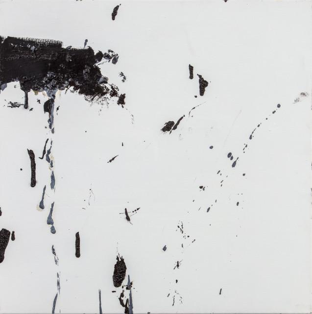 Frances Aviva Blane, Black on white 3, 2019