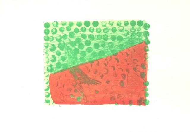 Howard Hodgkin, Green Chateau IV, 1978