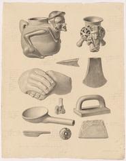 Maximilian Franck, Drawing nr. 28, 1829, British Museum, London