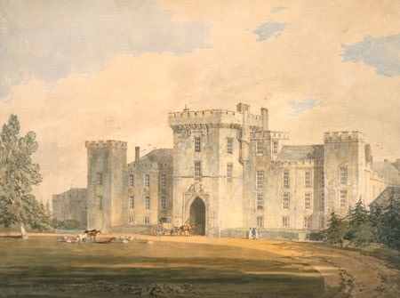 J.M.W. Turner (1775-1851), View of Hampton Court, 1795/6, watercolour, 32 x 42,5 cm, Whitworth Art Gallery, Manchester