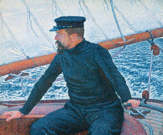 Théo van Rysselberghe (1862-1926), Paul Signac as a yachtsman, 1896, oil on canvas, Private collection