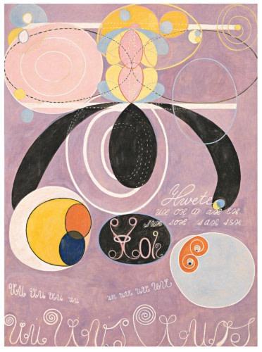 Hilma af Klint (1862-1944), The Ten Largest, no.6, 1907, oil on canvas, Stiftelsen Hilma af Klints Verk