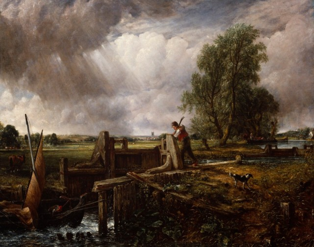 John Constable (1776-1837), A boat passing a lock, 1826, oil on canvas, 101,6 x 127 cm, Royal Academy, London